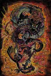 .:Attack of the Void-Bagbeans BTA-DragonSlayers :. by PrideAlchemist7