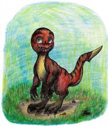 .: -Giftart for Moco13 - Moco the Dinosaur- :. by PrideAlchemist7