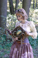 Cute steampunk girl by IzmaylovNail