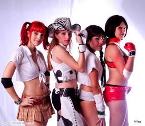 Rumble Roses Girls by plu-moon