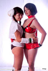 Reiko and Aigle by plu-moon