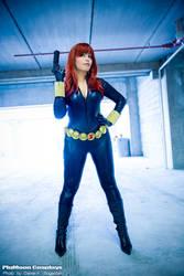 Black Widow Cosplay by plu-moon