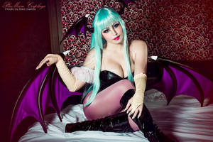 Morrigan Cosplay : Be My Guest by plu-moon