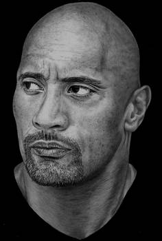 Dwayne 'The Rock' Johnson by Paul-Shanghai