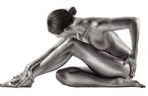Female Bodyscape Drawing 2 by Paul-Shanghai