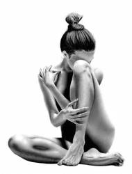 Female Bodyscape Drawing No. 4 by Paul-Shanghai