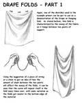 Drape Folds, Part 1 by ZejanNoSaru