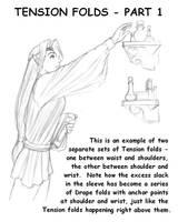 Tension Folds, Part 1 by ZejanNoSaru