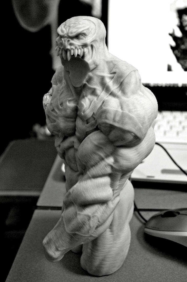 Venom WIP 7 by ThiagoProvin