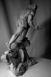 Bowen Weapon X statue COH by ThiagoProvin