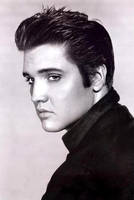 elvis portrait by Kevinmitarashi