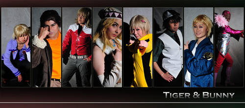 Tiger and Bunny People by ShinoMatrix