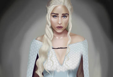 Khaleesi by love-dogs8