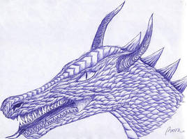 Dragon head by Koh-I-Noor