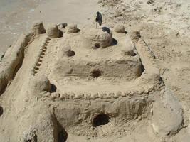 Sand castle by Koh-I-Noor
