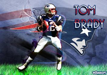 Tom Brady by R0mainT