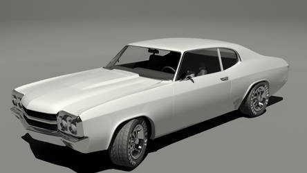 chevelle SS_3 by CapraruConstantin