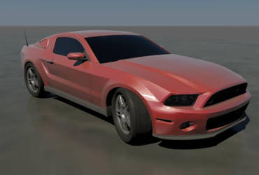 Mustang Boss 302 red by CapraruConstantin