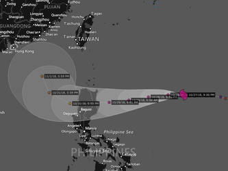 Super Typhoon Yutu approaches the Philippines. by Nicholas75