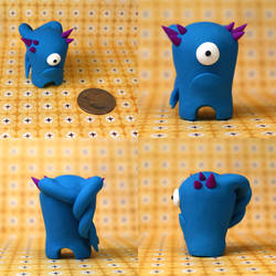 Norvin the Timid Monster by TimidMonsters