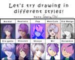 So Many Garrys - Style Meme by KiiroiKat