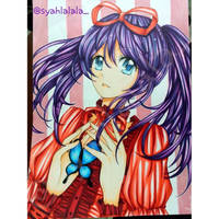 red and purple tone by Syahlalala