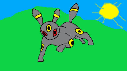 Umbreon Drawing (Redone) by WOLF97777777