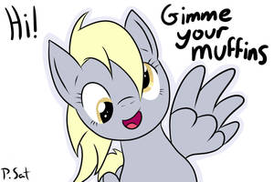 Gimme your muffins by DapperCat-UK
