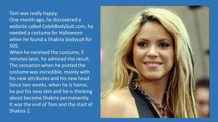 Shakira Skinsuit by napo08