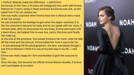 Emma Watson Skinsuit by napo08