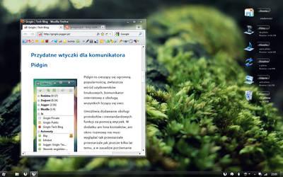 Windows 7: Winter desktop by GrzegorzJZD
