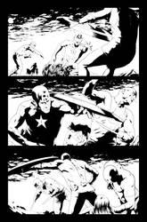 Siege: Captain America b by Dallocchio