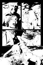 Siege: Captain America c by Dallocchio