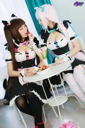 Chocola Vanilla by Hidori Rose and Virtual Geisha by HidoriRose