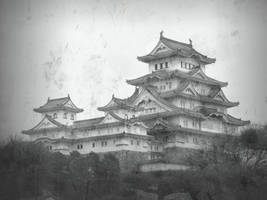 Himeji Castle by Valka