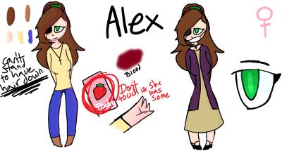 Alex Ref by AlektraAnimation