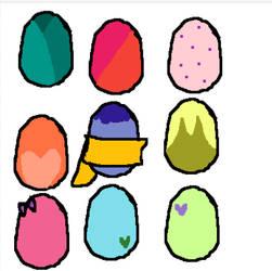 Egg adopts by AlektraAnimation