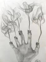 Extinguished Creativity by Quantum-Artist