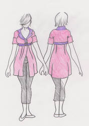 Fashion Design Piece 011 by VLDreyer