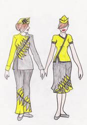 Fashion Design - Flight Attendant - Female by VLDreyer