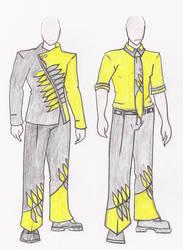 Fashion Design - Flight Attendant - Male by VLDreyer