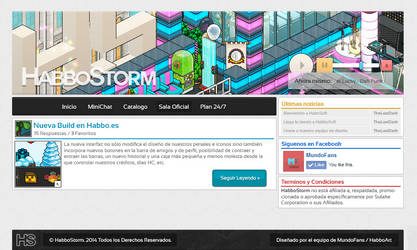 HabboStorm Mini Version by EkiizDeesigns