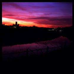 Purple skies 1 by iyidin