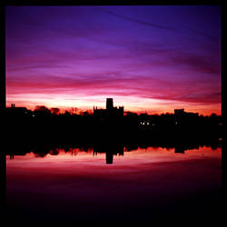 Purple skies 2 by iyidin