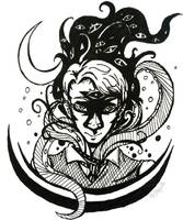 Cecil Ink Doodle by BlankInSpace