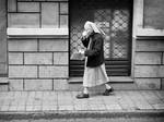 Walking Coffee Nun by sandas04