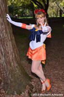 Super Sailor Venus ~ Victory! by jobiberry