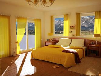 Bedroom by MatzeFatzle