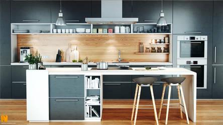 Modern kitchen by MatzeFatzle