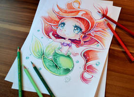 Chibi Ariel by Lighane